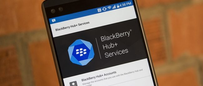 BlackBerry Hub Plus
