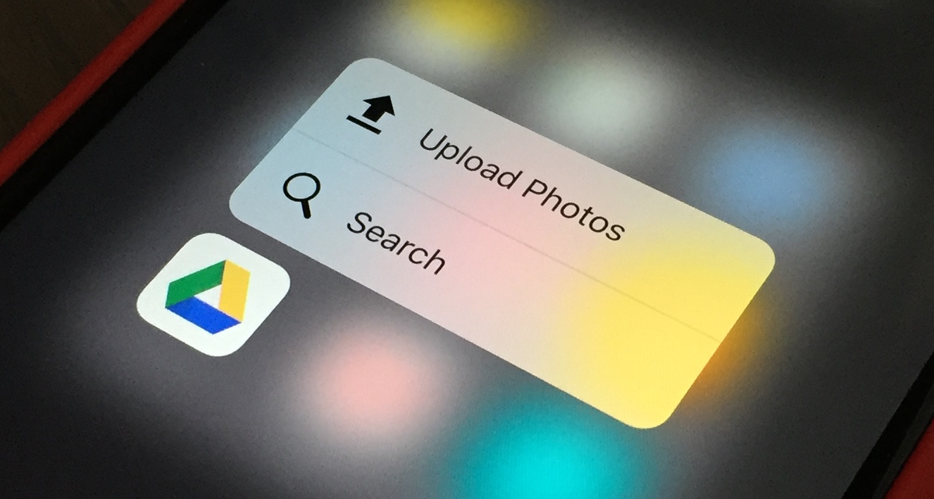 Google Mobile App 3D Touch