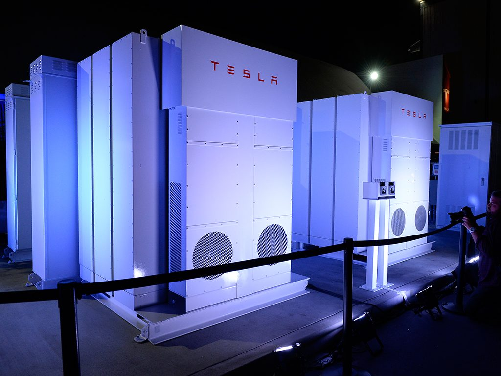 TESLA Energy Storage